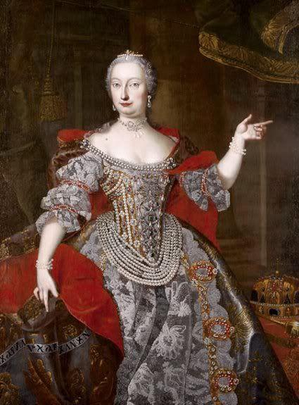 Empress Maria Theresa, Workshop of Martin van Meytens the Younger (Swedish, 1695–1770)