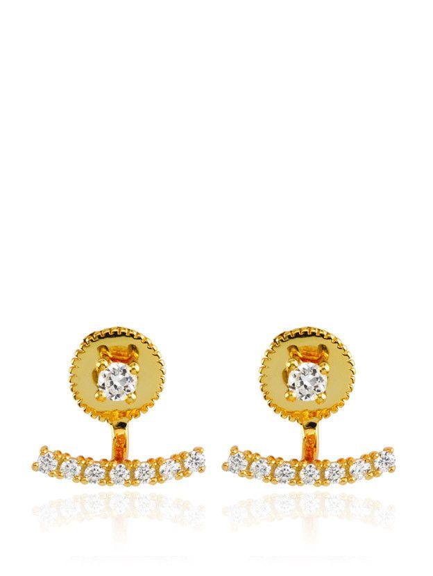 Samantha Wills - Azure Ear Jackets - Gold - $129.00