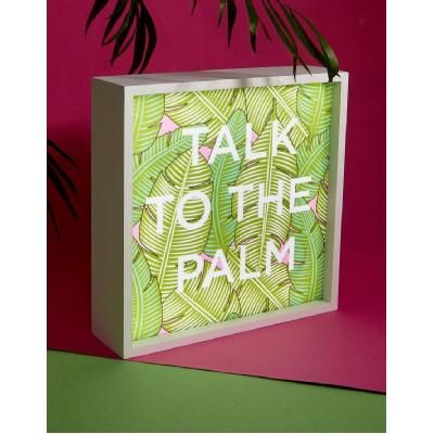 Mimo Talk to the Palm Light Box - Multi is a quirky home decor item from Shop.com. Was $30 Now $16.50. Save 45% https://au.shop.com/Mimo+Talk+to+the+Palm+Light+Box+Multi-1538156490-p+.xhtml#product-details
