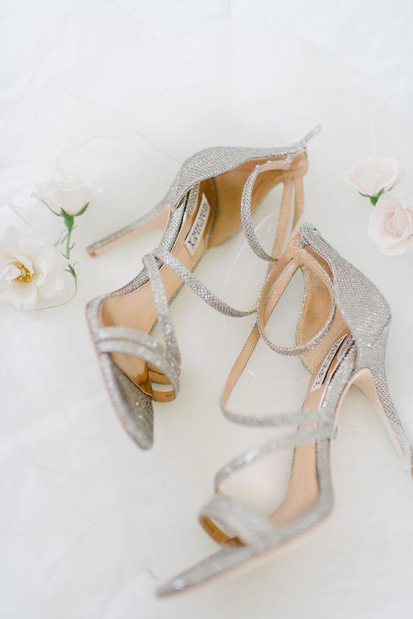 Metallic strappy heels: http://www.stylemepretty.com/vault/gallery/38343 | Photography: Rachel Pearlman - http://www.rachelpearlmanphotography.com/