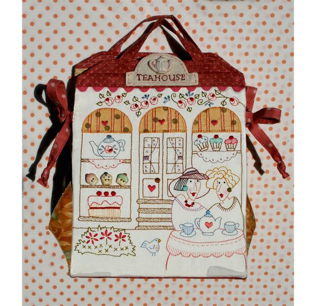 my little teahouse bag by Bronwyn Hayes designer for Red Brolly, via Flickr