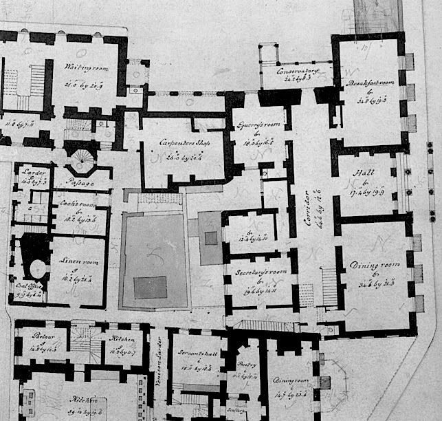 Clarence House floorplan | Castles and palaces | Pinterest ...