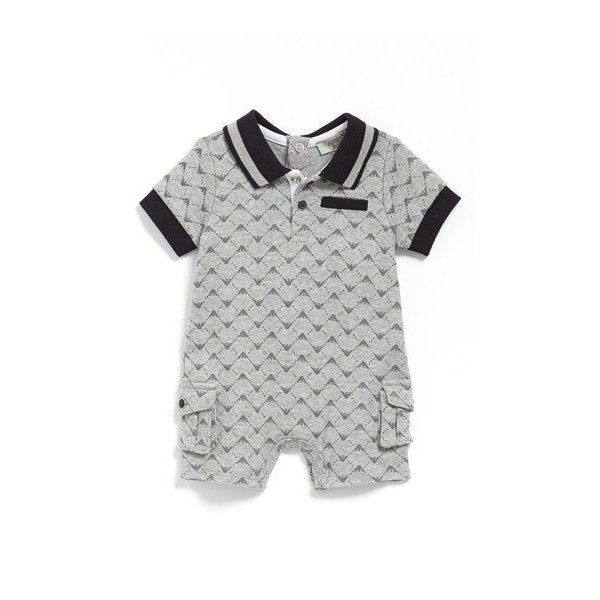 ARMANI JUNIOR Romper ❤ liked on Polyvore featuring jumpsuits, rompers, playsuit romper and armani junior