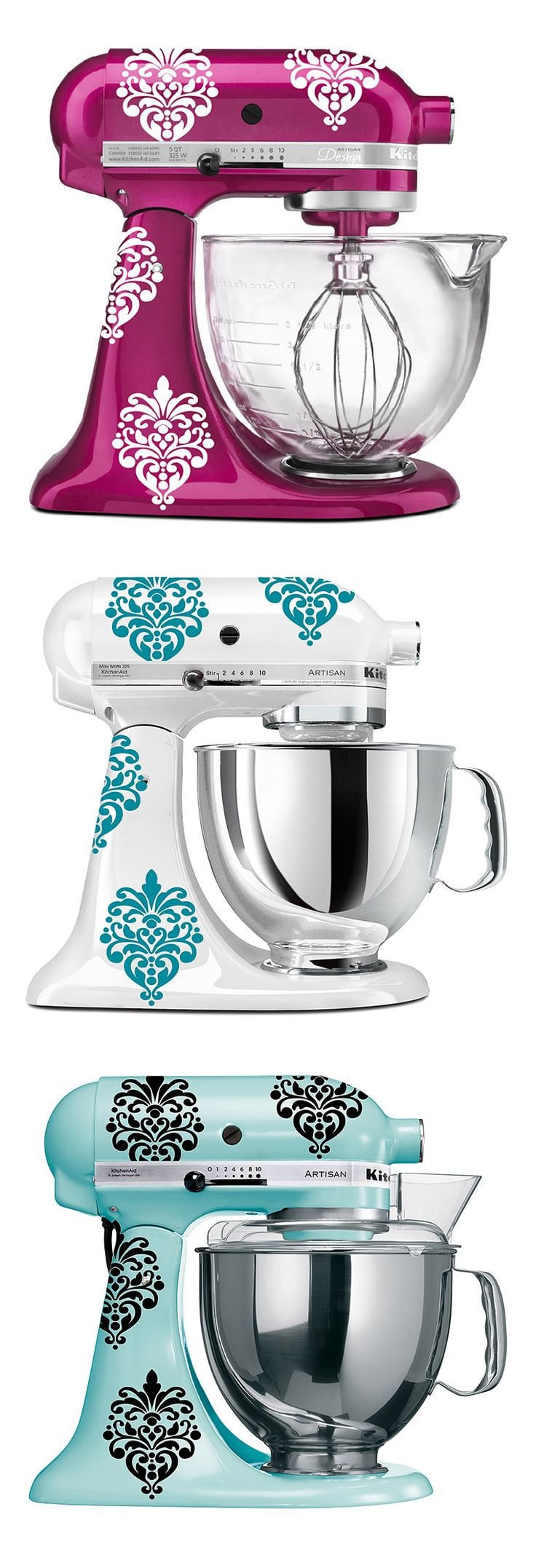 Kitchenaid Mixer Decals Ideas ~ Best kitchen aid mixers images on pinterest cooking