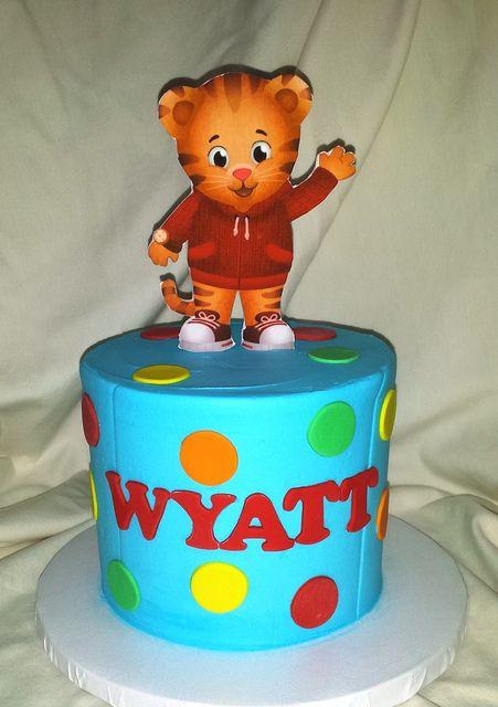 Daniel Tiger smash cake | Mick's Sweets - Flickr - Photo Sharing!