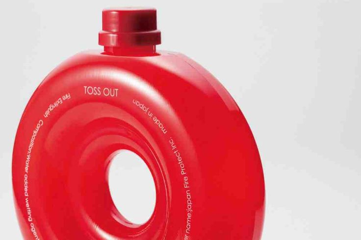 "Japan Fire Protect,Inc. /  Throwable fire extinguisher ""Toss Out"""
