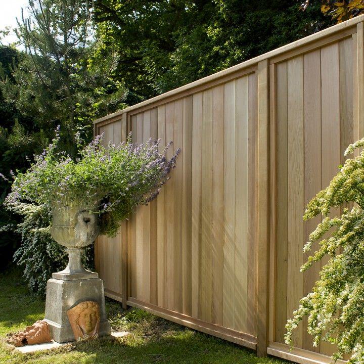 Wood Fence Around Pool