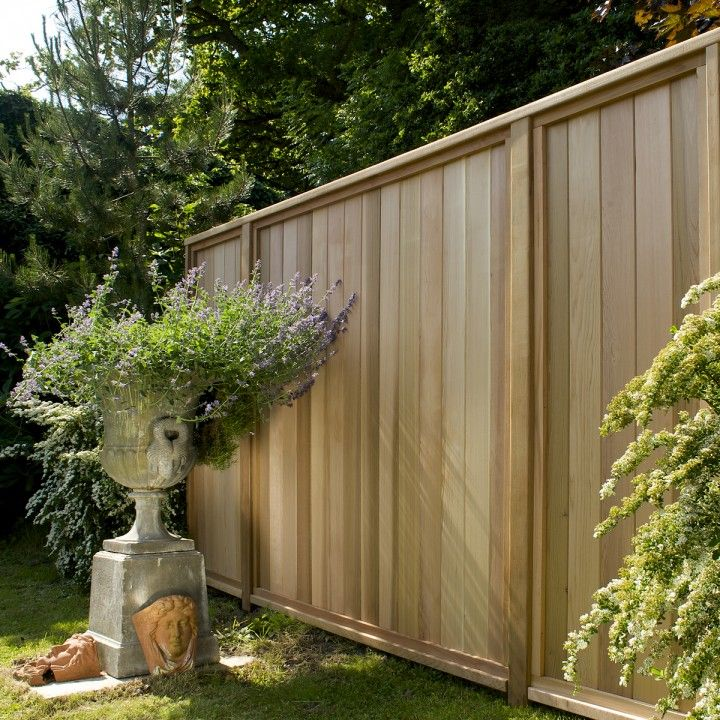 Western Red Cedar Tongue & Groove Fence Boards