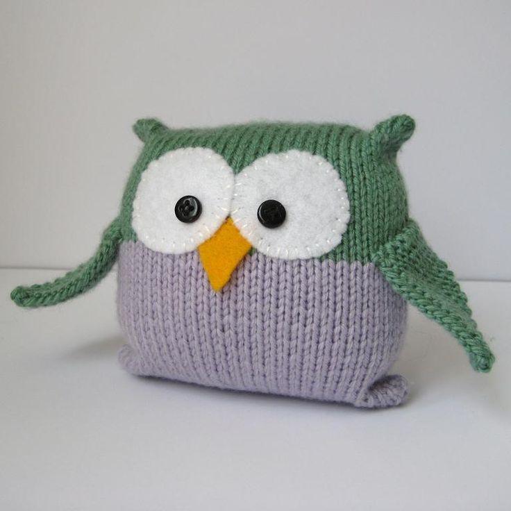 French Knitting Owl Doll : Best beginners knitting patterns images on pinterest