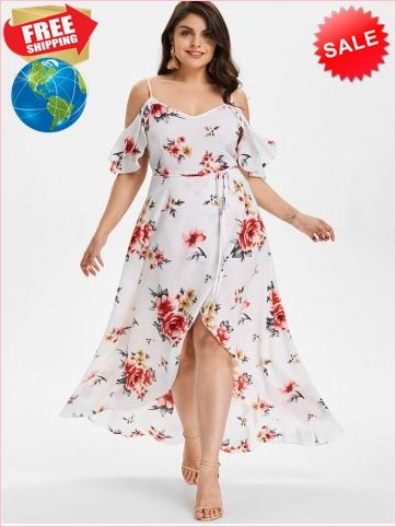 44ad7a06ad7 Best Prices Plus Size Hawaiian Cold Shoulder Maxi Dress 2246219  1CUKy5dMTQLwOqgbuAp9 Cheap Sale @RoseGal.com