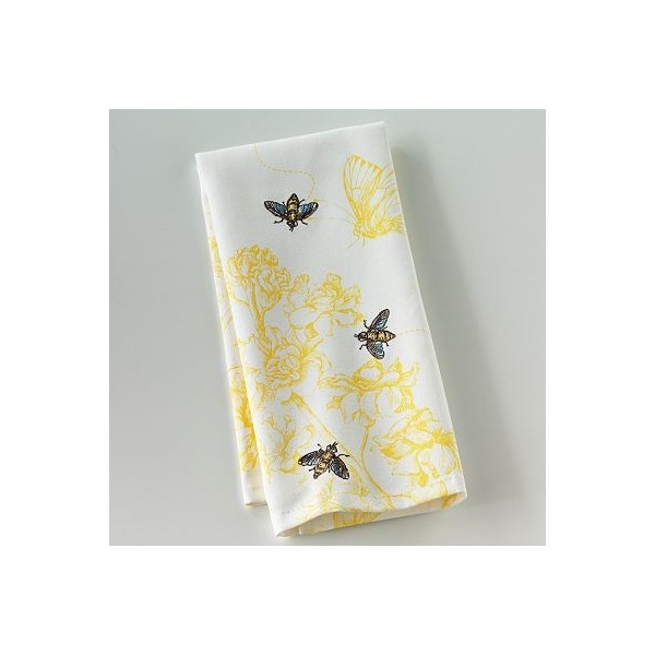 Blossoms And Blooms Bee Kitchen Towel