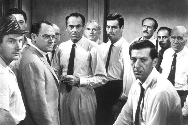 12 hommes en colère : Photo E.G. Marshall, Ed Begley, Henry Fonda, Jack Warden, John Fiedler