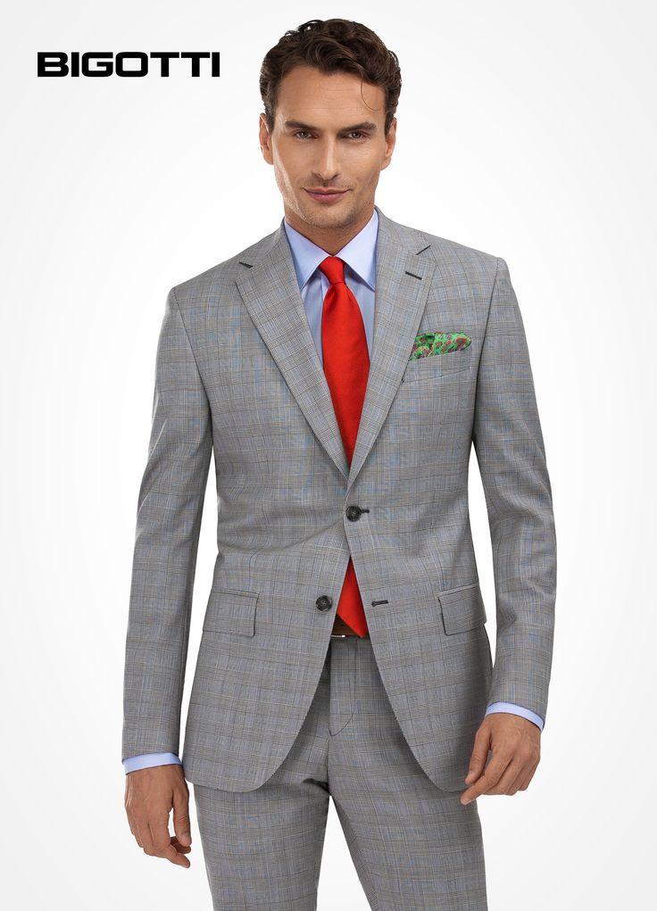 #Distinctive #style, #eminent #versatility - the #subtle #plaid #suit is a #sophisticated #alternative to the #everyday #dress #code  www.bigotti.ro 20% OFF #sale #Bigottiromania #follow #fashiontag #moda #barbati #costume #carouri #mensfashion #menswear #mensclothing #promotie #reduceri #discounts #ootd #ootdmen #suits #checks