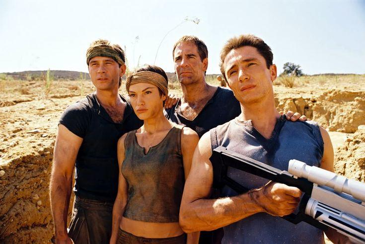 "Trip, T'Pol, Jonathan Archer, and Malcolm Reed, Star Trek Enterprise, ""Marauders"""