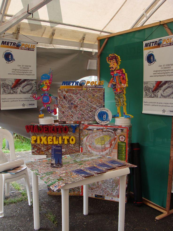 Participación en eventos para dar a conocer el producto en diferentes entornos económicos