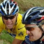 Armstrong & Landis tainted yellow jersey winners
