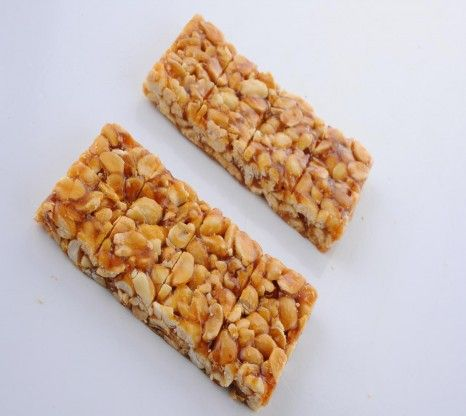 Chikki is a traditional ready-to-eat Indian sweet. Groundnut chikki is made with crushed grounduts mixed with jaggery for a healhty, anytime...