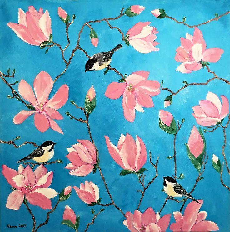 Magnolia Acrylic on Canvas 2017