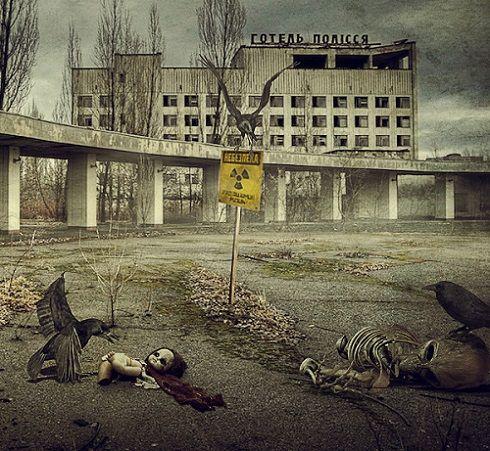 La tragedia nuclear de Chernobyl en Ucrania convirtió a Prypiat, un asentamiento de 50.000 personas, en un pueblo fantasma. Imagen de Moustafa Khamis.