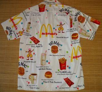 Hanakahi - Vintage 60's Hawaii Ronald McDonald Hawaiian Aloha Shirt - TheHanaShirtCo