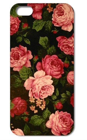 Designer Style iphone 5/5s floral vintage rose blossom tropical flowers print case/cover by im (iPhone 5/5s, black) MiMi http://www.amazon.co.uk/dp/B00VALDS7U/ref=cm_sw_r_pi_dp_-ASNvb1MB7T0J