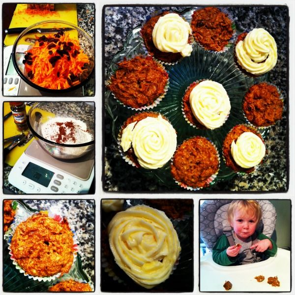 WeightWatchers Carrot and Walnut Cakes