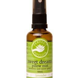 sweet dreams pillow mist with chamomile, lavender and sweet orange. This beautiful mist enables you to wind down and  create your own dreamy paradise.