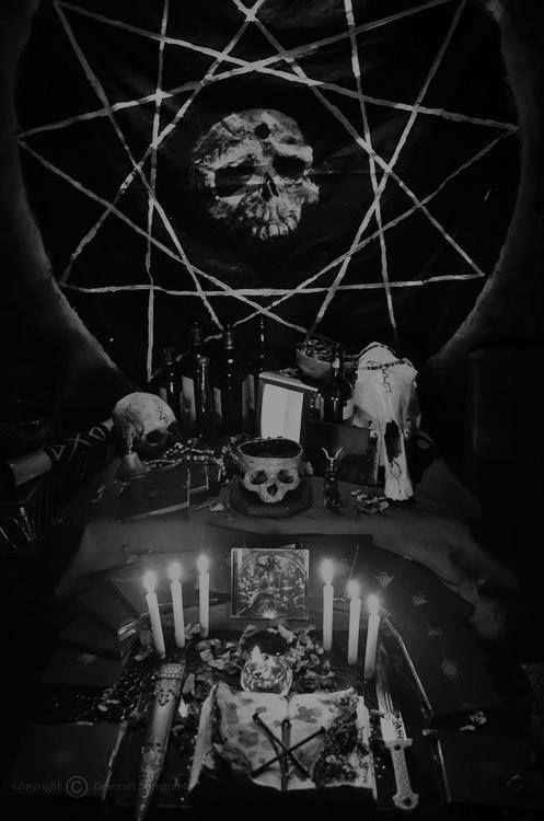 how to build a satanic altar