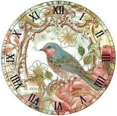 plantillas de relojes de pared vintage - Buscar con Google