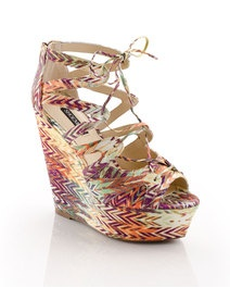 shoemint erica in tribal fabric print 3