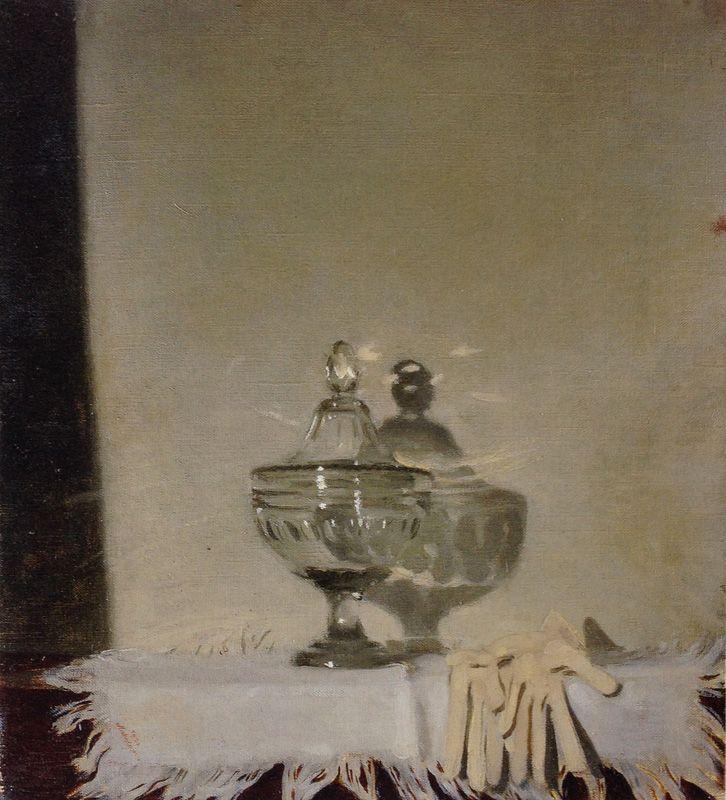 The Glass Bowl by Sir William Nicholson (English 1872-1949)