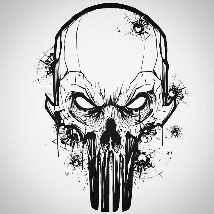 Картинки татуировки череп