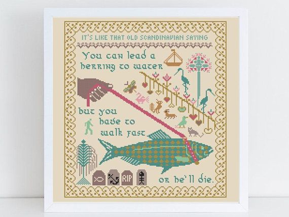 A Modern Cross Stitch Pattern With Wise Words From Golden Girl Rose Nylund The Proverb Rose Cross Stitch Pattern Cross Stitch Rose Funny Cross Stitch Patterns