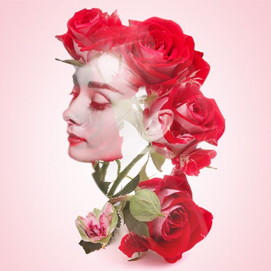 Double Exposure Portraits by Alon Avissar