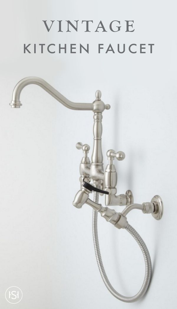 Add A Stylish Contemporary Look To Your Kitchen With This Felicity Wall Mount  Kitchen Faucet