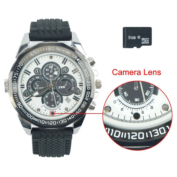 720P HD Hidden Camera Watch With Snapshot And AV Recording Function