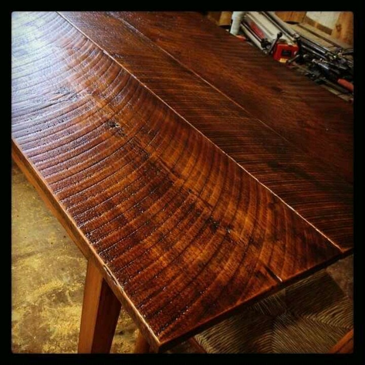Awesome French Farm Table. Reclaimed Heart Pine