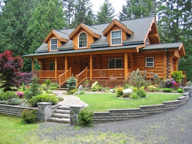 Port Orchard Wa Log Home For Sale Log Homes Pinterest