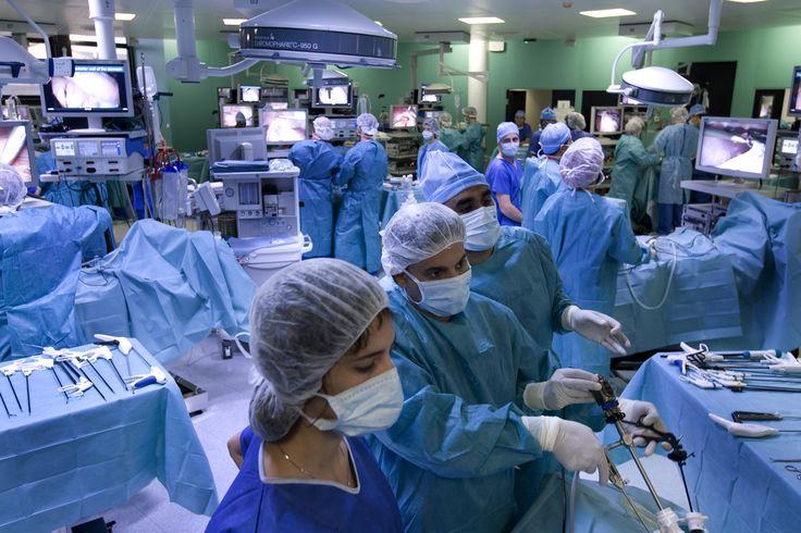 Training room, overview. © Copyright Eranian http://websurg.com/