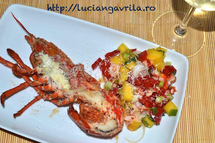 Grilled #lobster Homar la grill