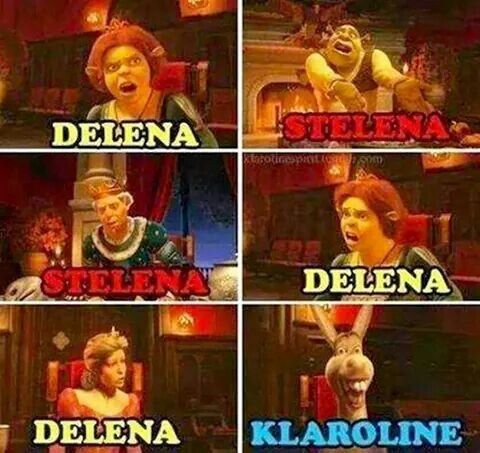 Basically, the whole of the TVD fandom right now........