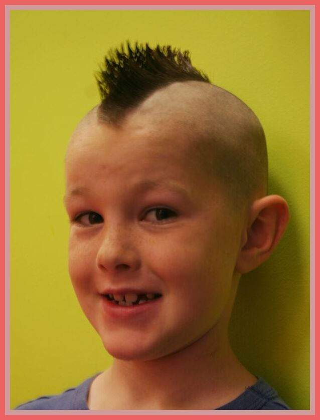 31 Reference Of Kid Hairstyles Boy Mohawk In 2020