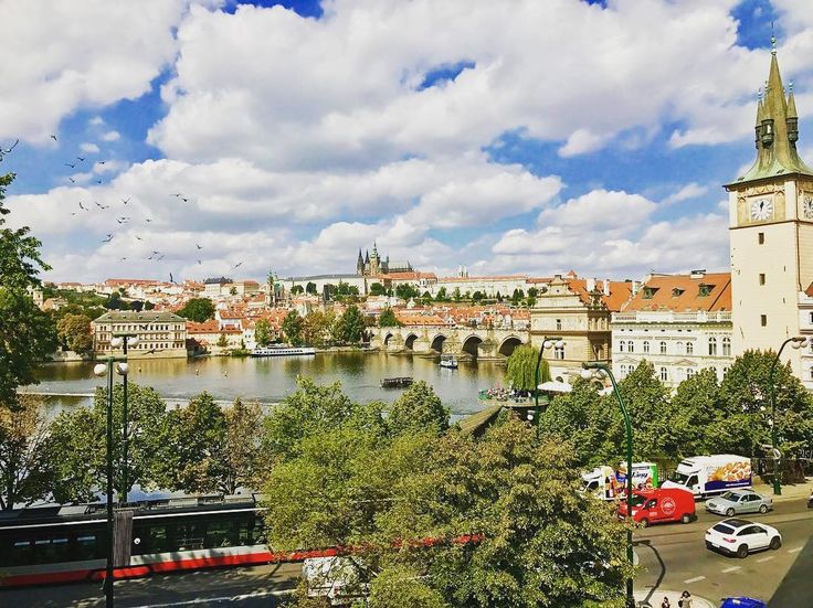 The best view of the Charles Bridge right from your room!