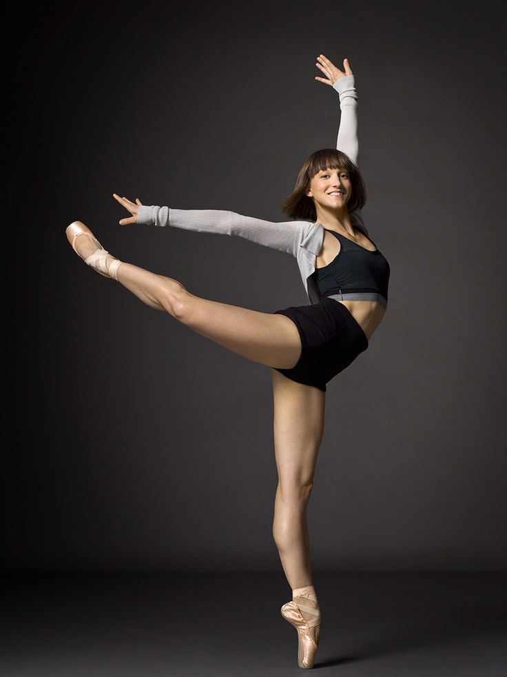 NYC Ballet's Ashley Bouder. Photo by Henry Leutwyler