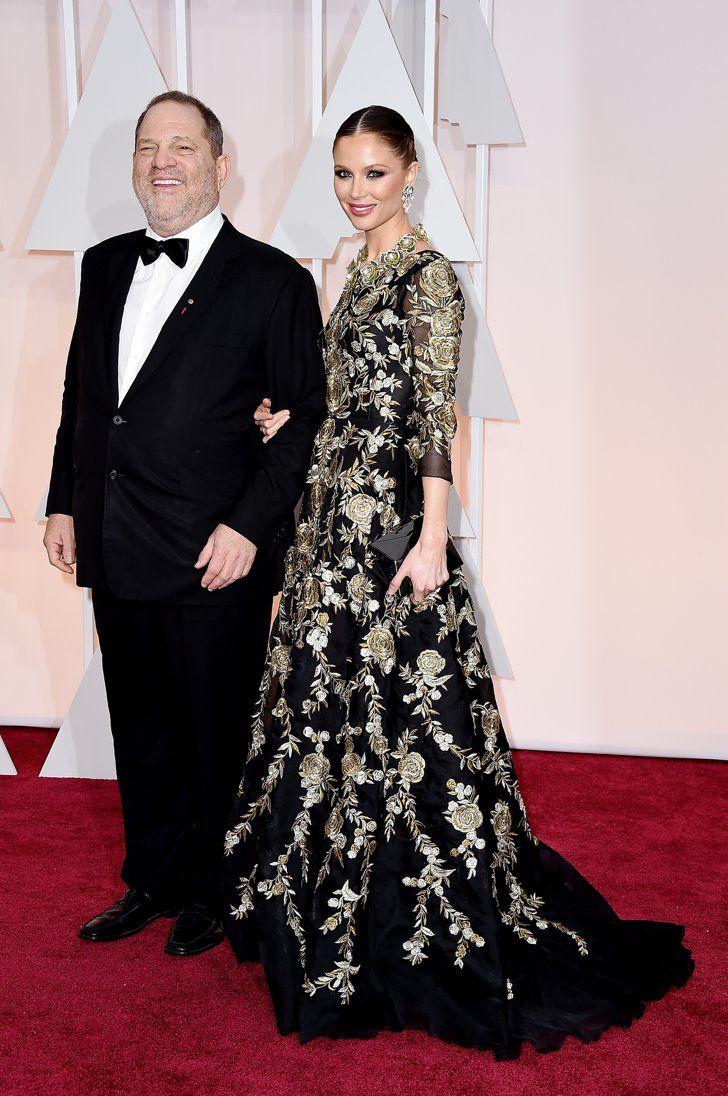 Pin for Later: Cette Année, les Oscars Etaient une Affaire de Couples Harvey Weinstein et Georgina Chapman