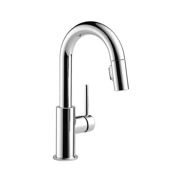 Delta Trinsic - Single Handle Pull-Down Prep Faucet