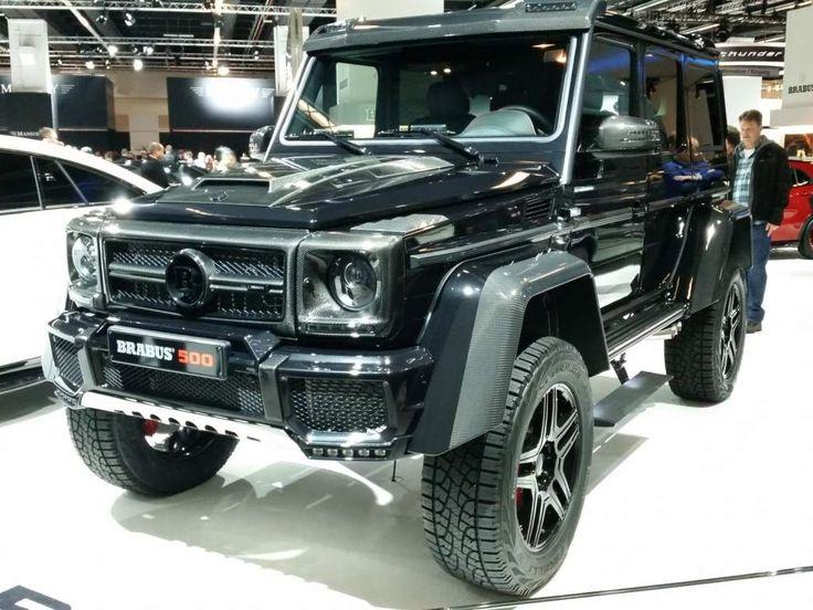 Brabus Mercedes-Benz G500 4x4