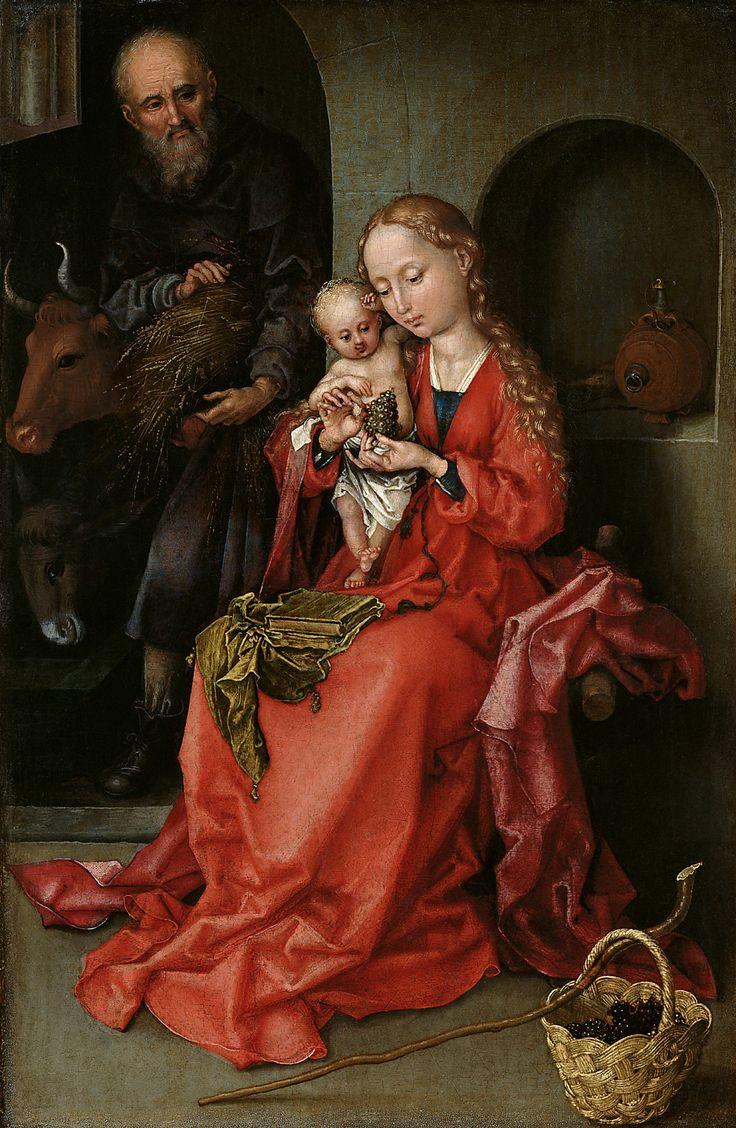 um 1480/1490, Künstler:Martin Schongauer, , Kunsthistorisches Museum Wien, Gem…
