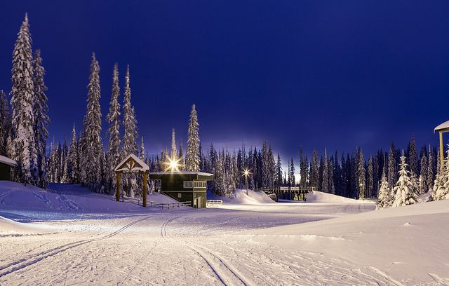 Winter's Blues - Silverstar Mountain,  Vernon, BC, Canada, Its so hard looking at these photos of my old play ground