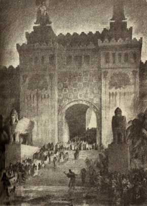 The Gate to the Inner Court, King Solomon's Temple